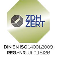 ZDH Zertifizierung 14001-2009
